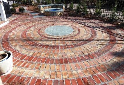 Patio by Carolina Solid Rock Masonry