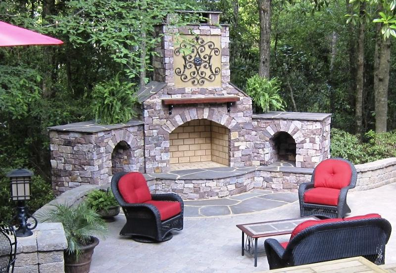 Teague Makeover by Low Country Landscaping and stonegarden-nc.com