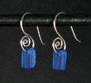 Sea Glass Earrings at Stone Garden
