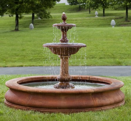 Williamsburg Fountain at stonegarden-nc.com
