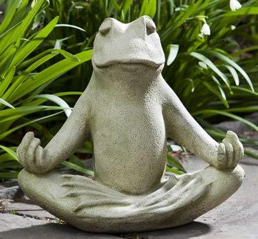 Zen Frog at Stone Garden