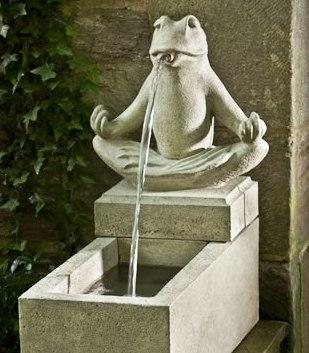 Zen Fountain at Stone Garden