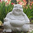 Happy Buddha at StoneGarden-nc.com