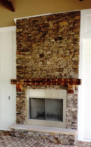 TN Fireplace by Stone Garden