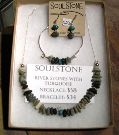 Soul Stone Necklace Set at Stone Garden