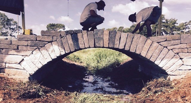 McGraw drystack bridge