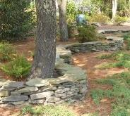 Craig Mann - S curve stone wall