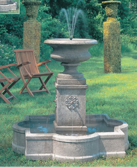 Palazzo Urn Fountain