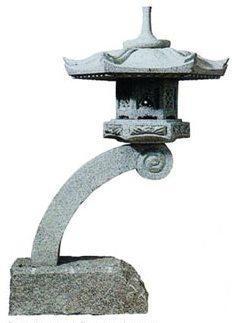 Rankei Lantern at Stone Garden