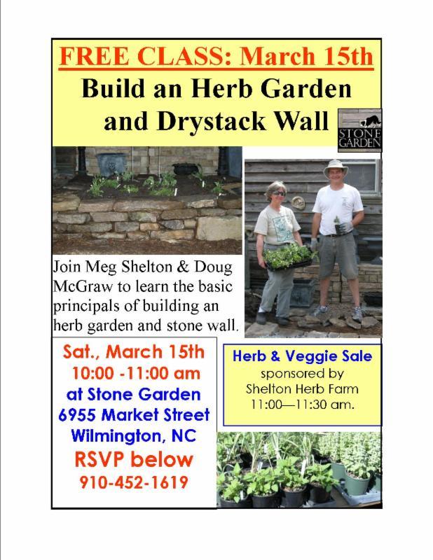 Herb Class at stonegarden-nc.com