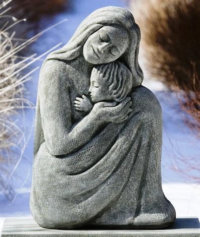 Mother & Child at Stone Garden