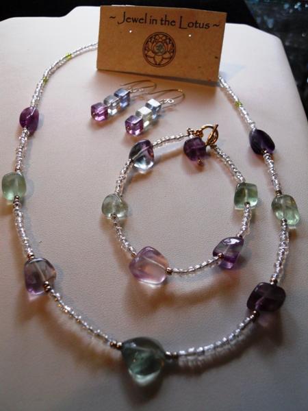 Flourite Jewelry