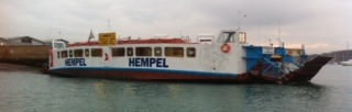 Chain Ferry with sponsor