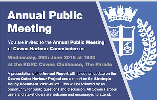 CHC Annual Public Meeting 2016