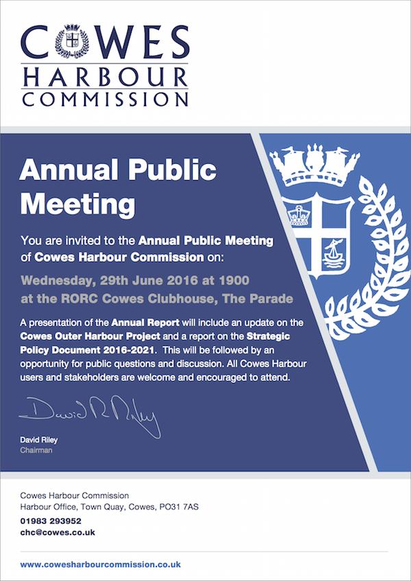 CHC Annual Public Meeting