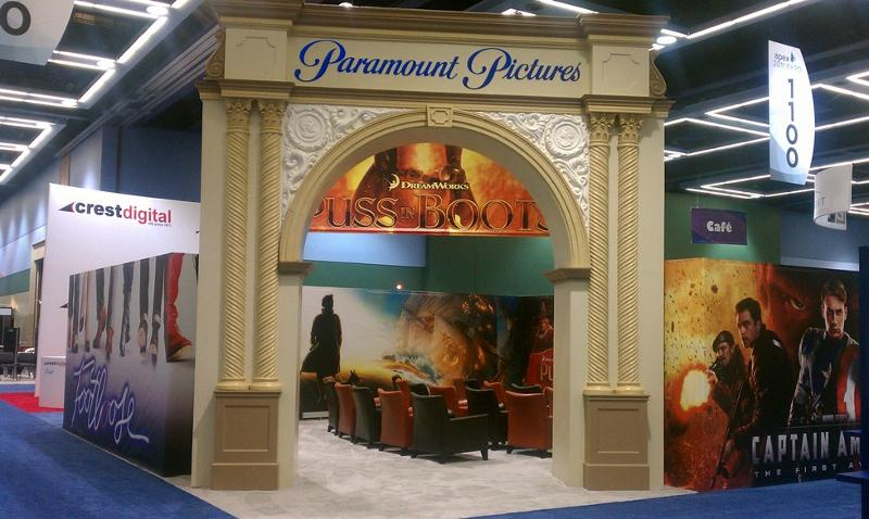 Paramount Pictures at APEX Seattle 2011
