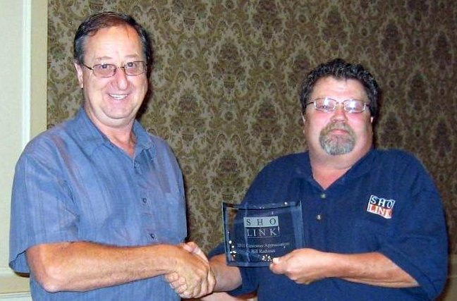 Bill Redman - Customer Service Appreciation Award 2011