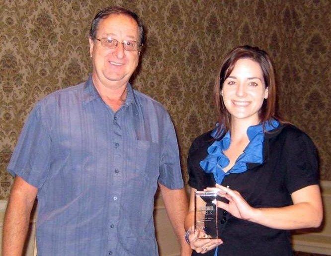 Toni Jendras 5 yrs. Service Award