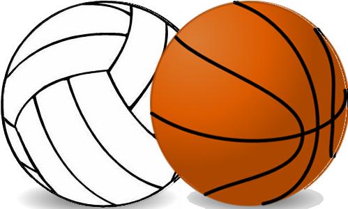 Volleyball Basketball