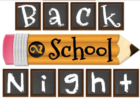 Back to School Night 2015