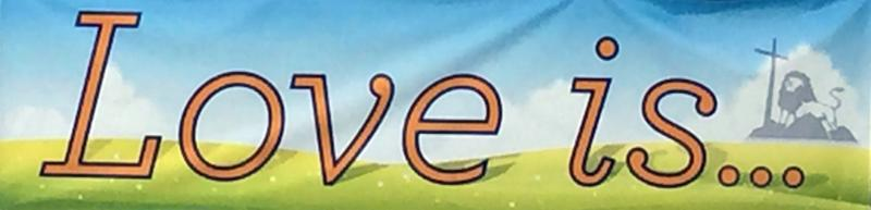 Love is banner