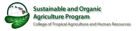 Sustainable and Organic Program Logo