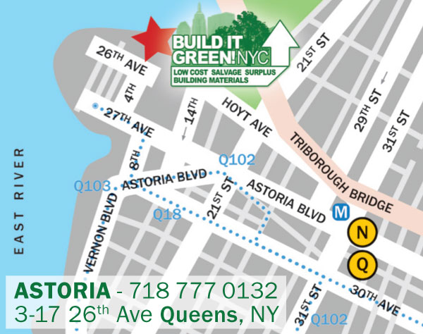 BIG!NYC Astoria Map