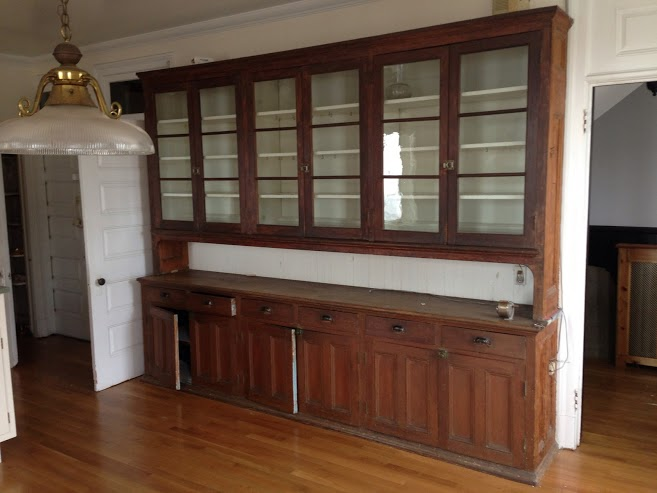 Decon team salvages an 1890 39 s mansion compost for sale for 1890 kitchen cabinets