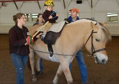 Hippotherapy In Action!