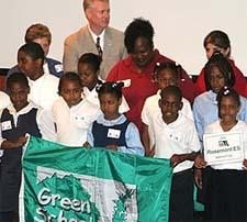 Celebrating Green Schools.