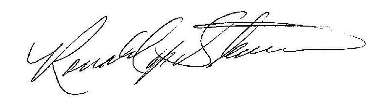 Ronald Signature
