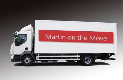 Martin on the move truck