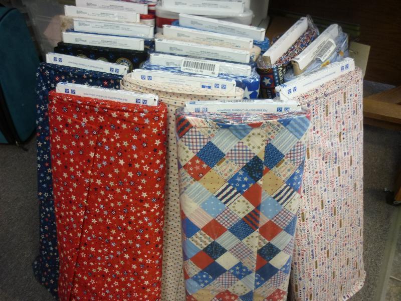 Patriotic Fabric RJR