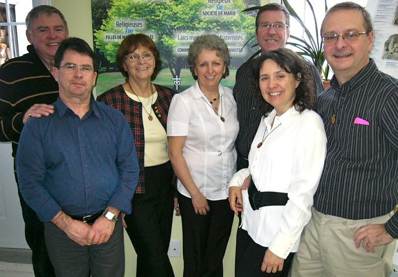 Quebec leadership team 2012