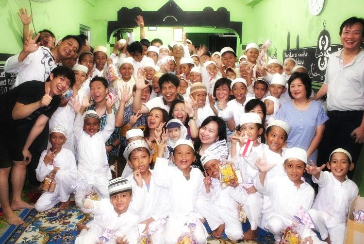 Indonesian Muslim children