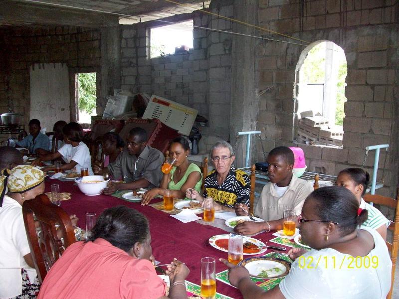 Haiti dinner
