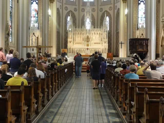 USA-Cincinnati church