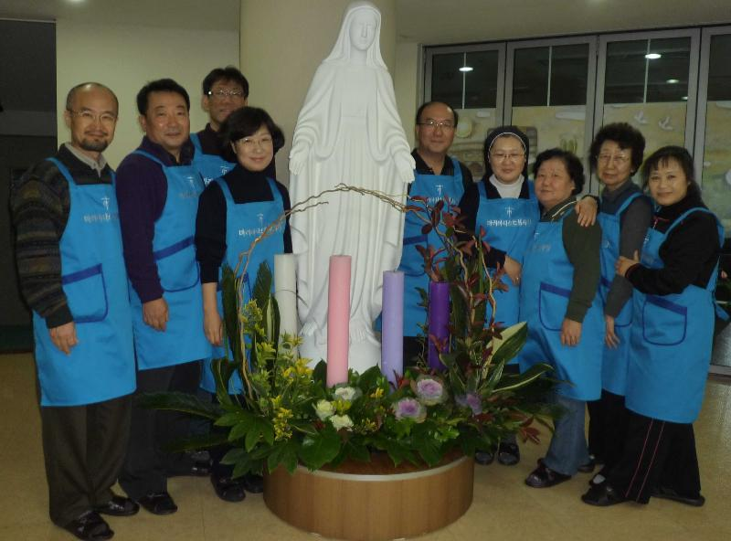 Korean MLC at nursing home w Advent