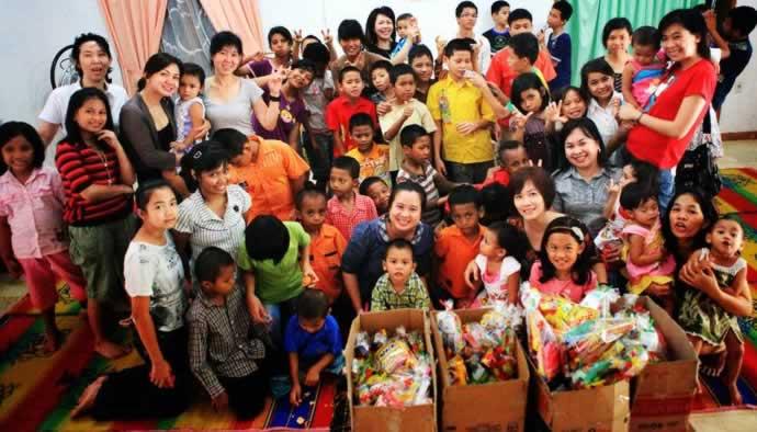 Indonesian MLC ar orphanage 2011