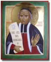 Chaminade icon with scroll