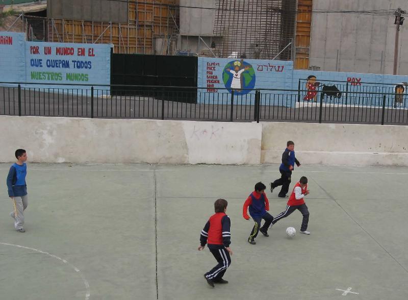 Almeira Spain-ninos futbol