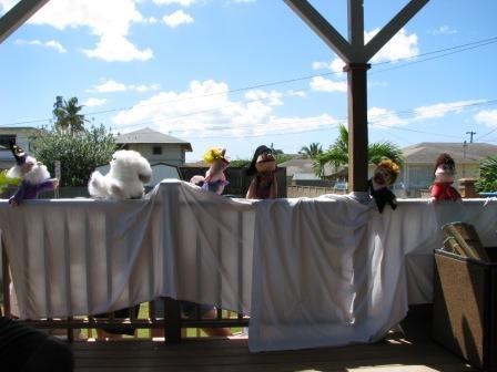 Hawaii puppets