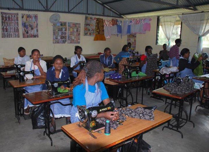 AFRICA-Kenya-Nairobi Imani project sewing