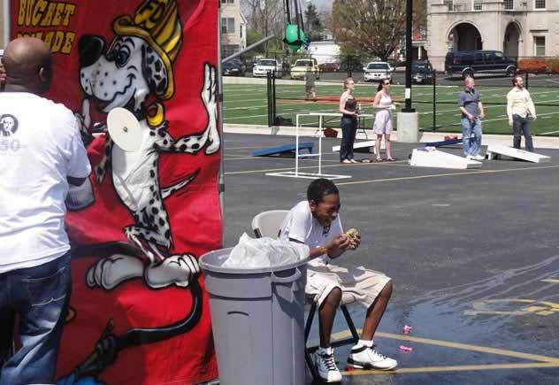 USA-Cincinnati dunk