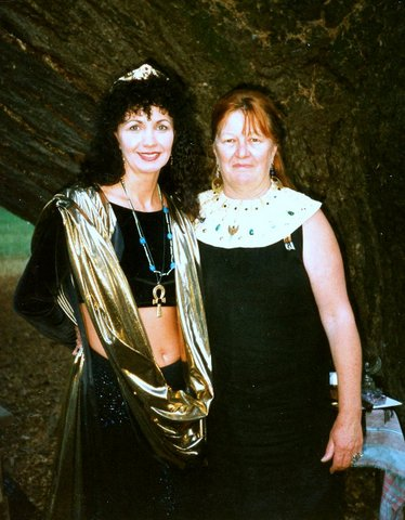Xia Ordained by, Laura at Isis Oasis, October 18, 1997.