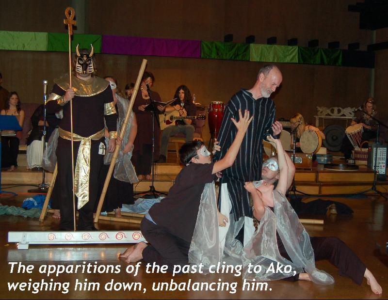 Ako and troop