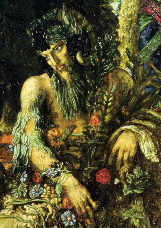 Pan by Gustave Moreau 1894