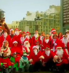 Santas at WB