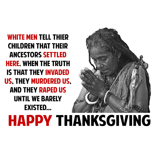 truth behind thanksgiving