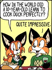 Precocious Webcomic